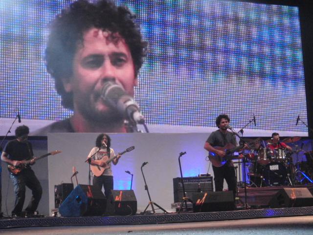 Raly Barrionuevo y Peteco Carabajal brillaron en Cosquín