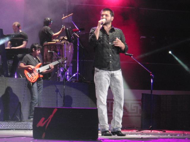 Jorge Rojas enamoró a Cosquín