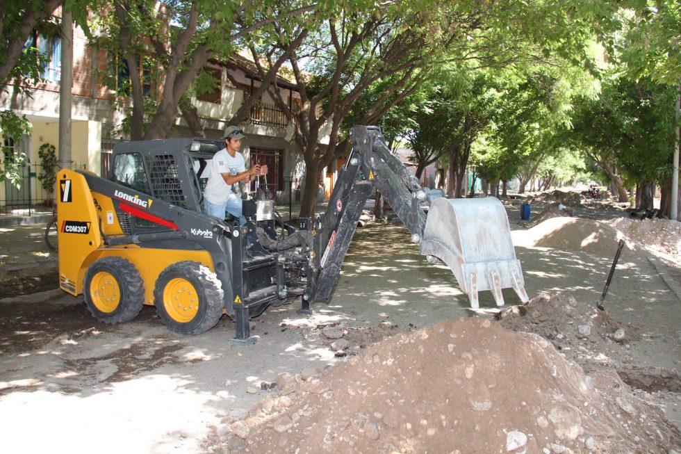 Pueblo Diamante: Asfalto para 27 cuadras
