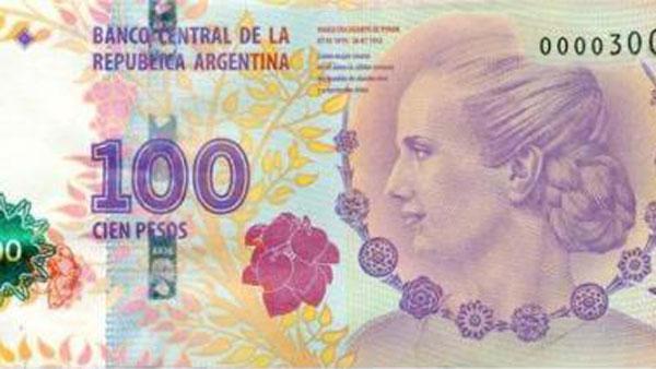 Buscan sacar de circulación los billetes de $100 con la imagen de Roca