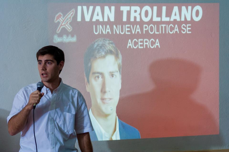 Presentó su Pre-Candidatura a Concejal  Ivan Trollano