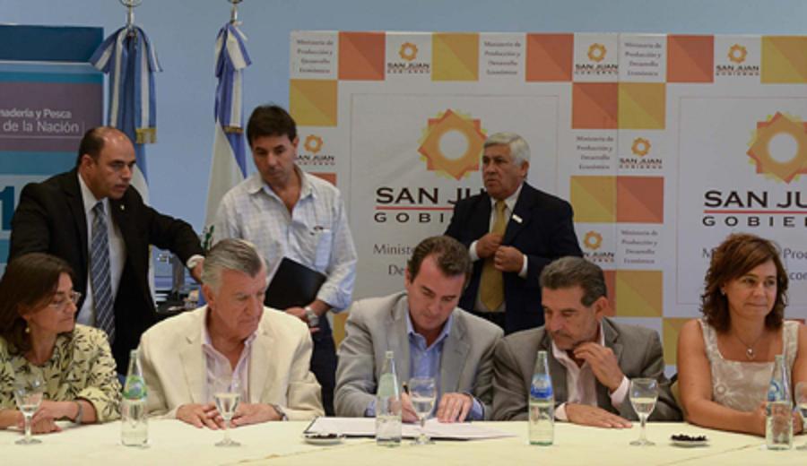 Mendoza acordó con San Juan, La Rioja y Catamarca el precio del mosto