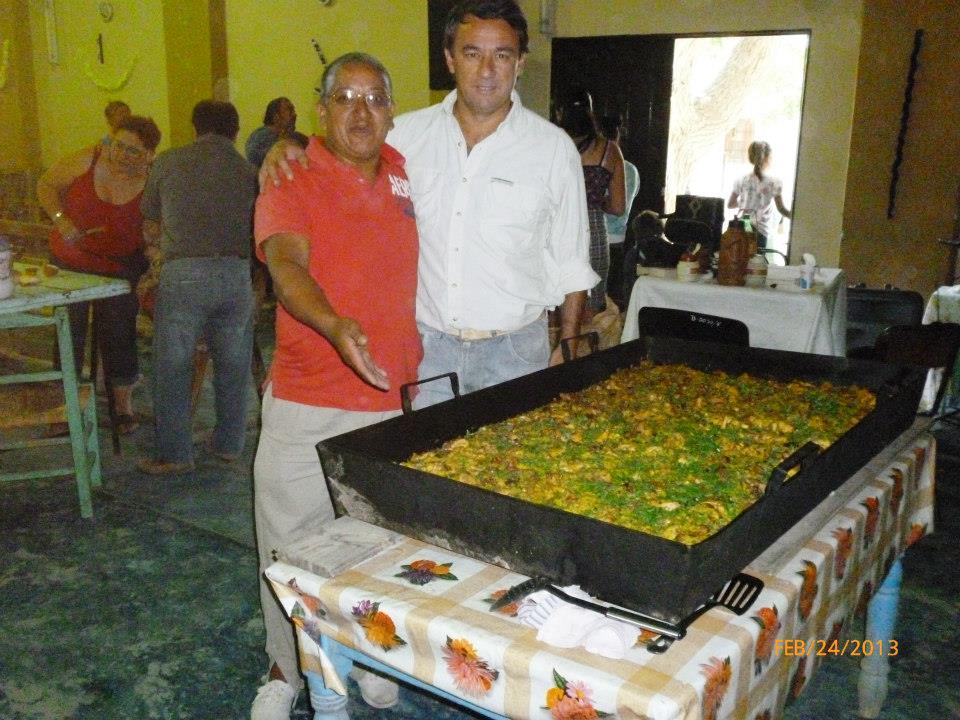Arroz con pollo en El Nihuil