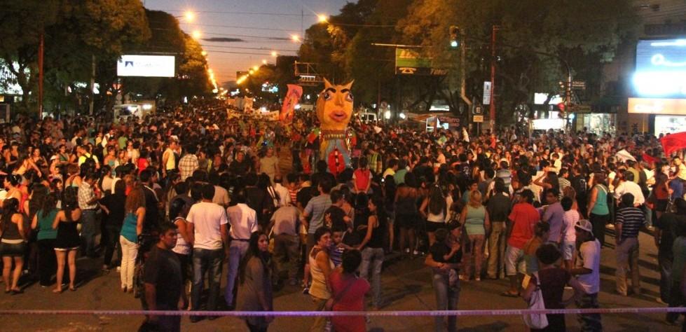 Volvió el carnaval a San Rafael