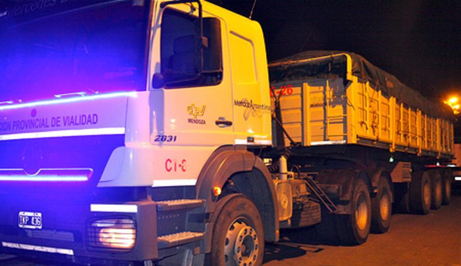Mendoza  llegó a La Plata con donaciones