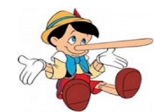 La mentira tiene patas cortas… y se delata a sí misma