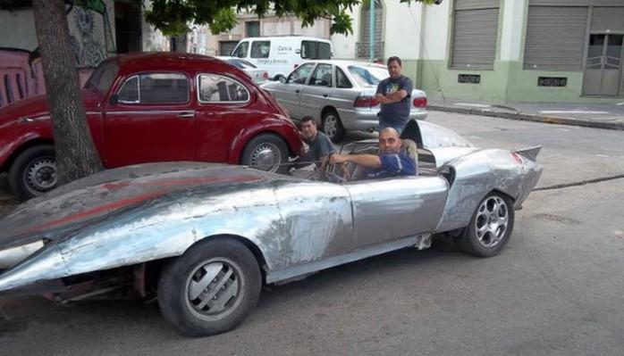 El auto de Meteoro