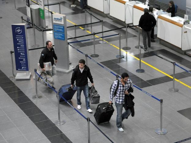 Paro en aeropuertos