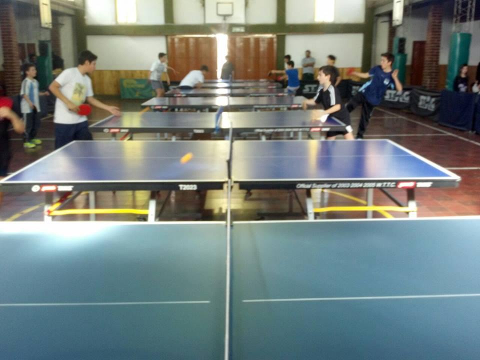Torneo de la asociaci n sanrafaelina de tenis de mesa for Madison tenis de mesa