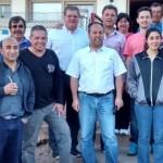 MALARGUE, ROBY Y AGULLES EN CENTROS DE SALUD
