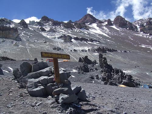Andinista francesa se accidentó en Nidos de los Cóndores