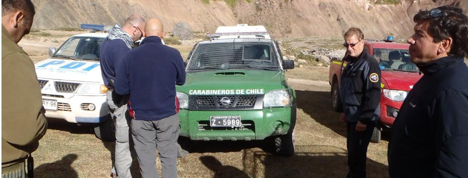 Delegación argentina cruzó por Las Damas
