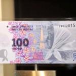 .JPG.BILLETE DE $100, NUEVO,MADRES DE PLAZA DE MAYO