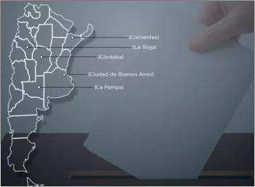 Hoy se vota en cinco provincias d a del sur noticias Noticias del dia de hoy en argentina espectaculos