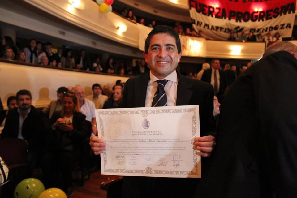 Proclamaron a Marcolini Intendente de General Alvear
