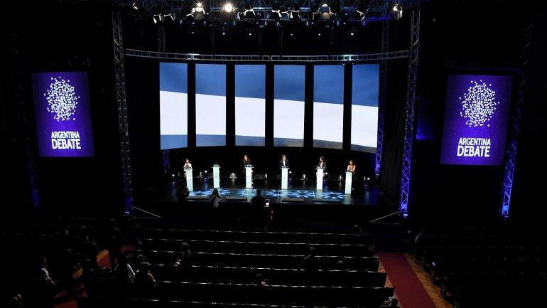 Se realizó el 1° debate Presidencial