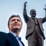 Macri en el monumento_peron