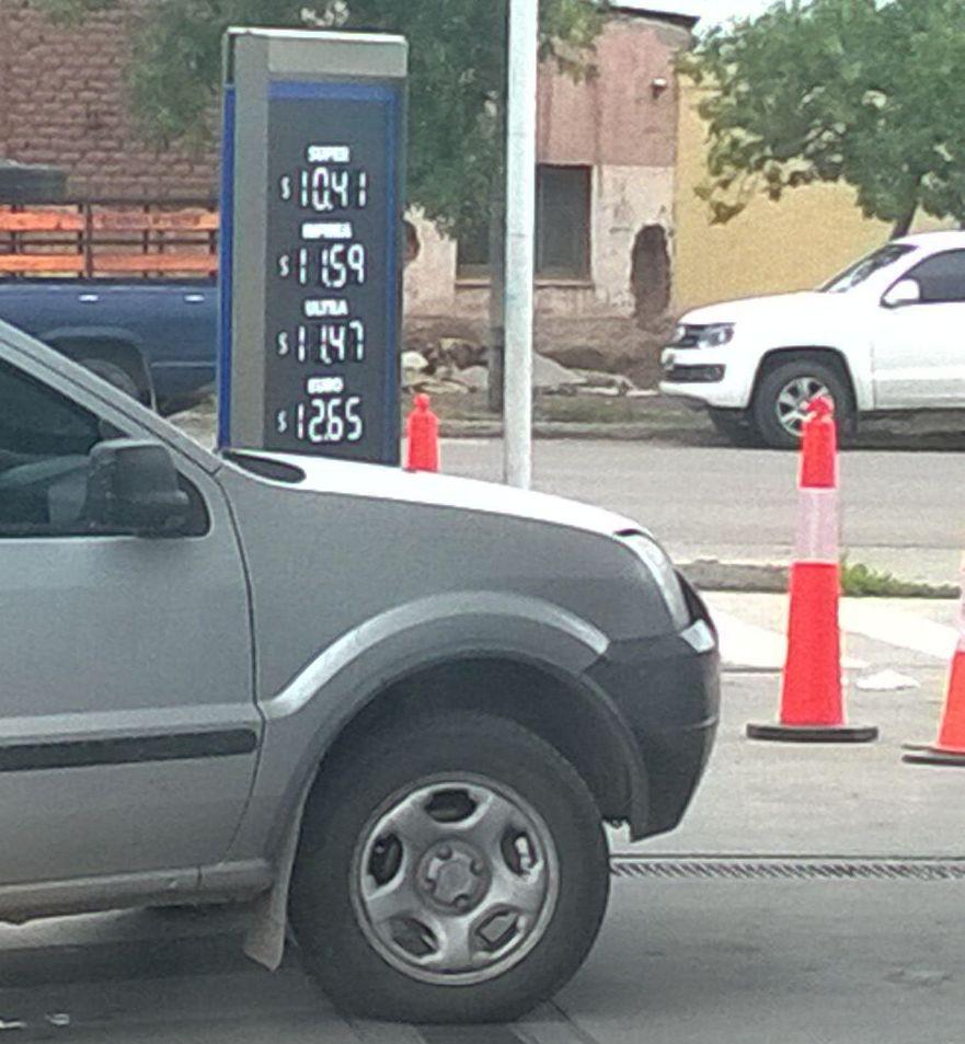 Nuevos precios en los combustibles