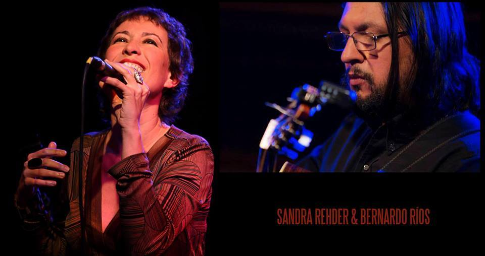 Sandra Rehder y Bernardo Ríos juntos