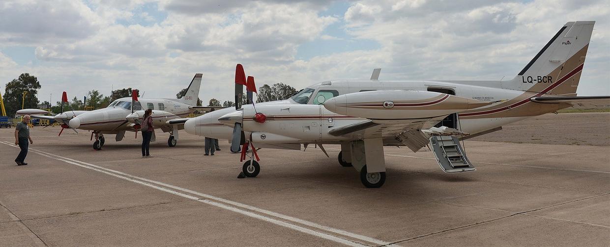Confirmado: los aviones de la lucha antigranizo operarán desde San Rafael