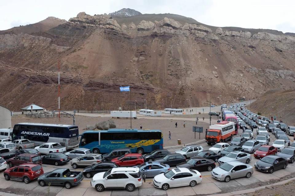 Muchos mendocinos viajan ya a Chile
