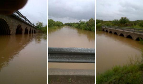 La lluvia revivió el Atuel en La Pampa