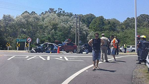 Camioneta argentina chocó cerca de Punta del Este: hay dos muertos