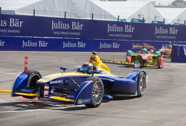 """Fórmula E: el """"pariente verde"""" de la Fórmula 1"""