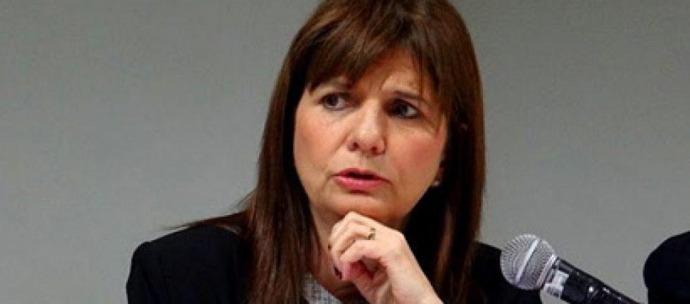 Patricia Bullrich viene a Mendoza por la seguridad del fútbol