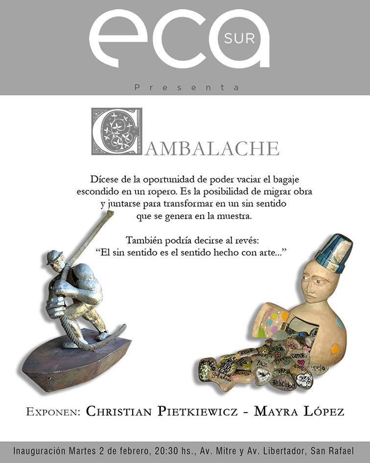 """Muestra """"Cambalache"""" en el ECA Sur"""