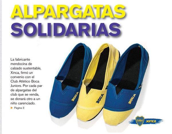 El fabricante de calzados Xinca y el club Boca Juniors calzarán a 10.000 chicos de todo el país