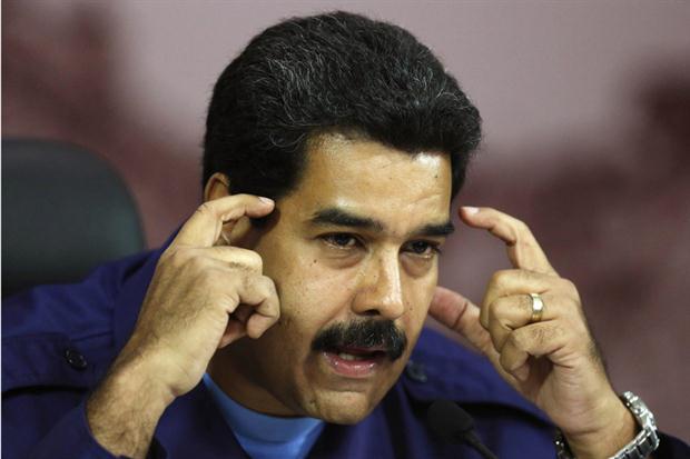 """Maduro calificó de """"oligarquía miserable"""" al gobierno argentino"""