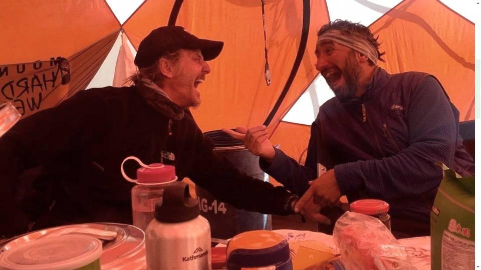 Facundo Arana hizo cumbre en el Everest