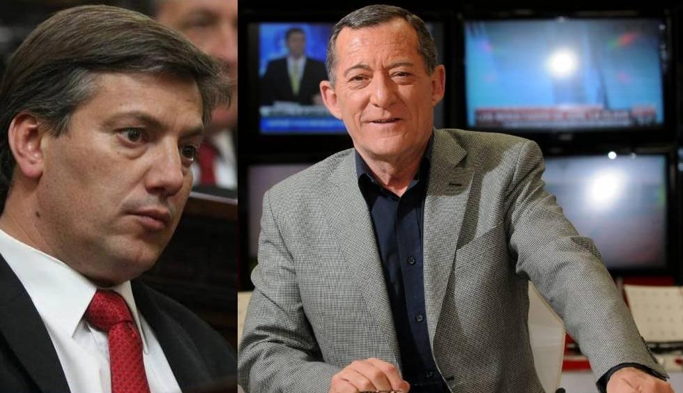 El senador Molero quiso explicar el aumento de los legisladores y encrespó a Ricardo Mur