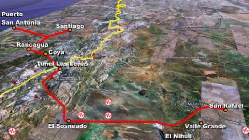 China Railway Construction interesada en Paso Las Leñas