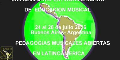 XXII Seminario Latinoamericano de Educación Musical