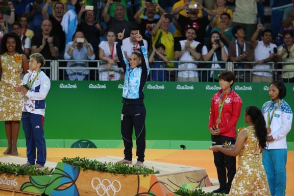R o 2016 paula pareto gan la medalla de oro en judo for Ultimos chimentos dela farandula argentina 2016