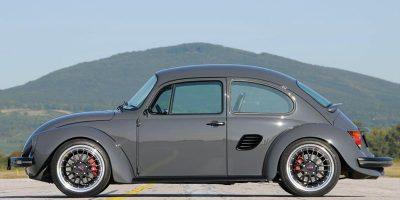 Escarabajo con alma de Porsche Boxster