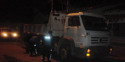 Persona arrollada por el camión: ¿será otro caso de inseguridad?
