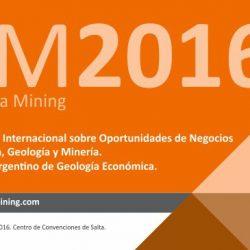 Mendoza participará del Argentina Mining 2016 en Salta