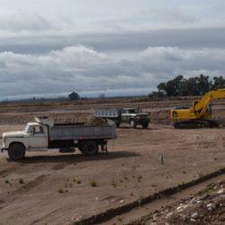 Solicitan finalizar obras en la planta de tratamiento de líquidos cloacales