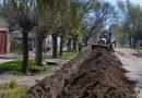 Red de agua en Villa Atuel y obras en distritos