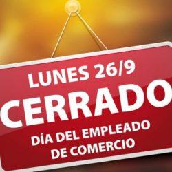 26 de Setiembre: Día del Empleado de Comercio