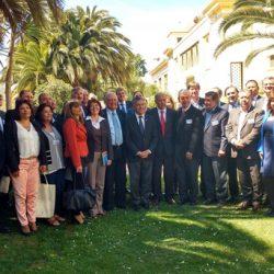 Cornejo pidió mayor compromiso a los gobiernos nacionales de Chile y Argentina