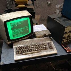 Usan la Commodore 64 para reparar vehículos