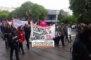 Multitudinaria marcha #NI UNA MENOS