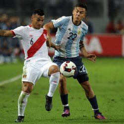 Argentina empató con Perú