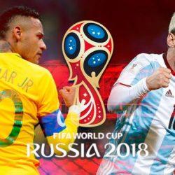 Argentina visita al líder Brasil con la vuelta de Messi