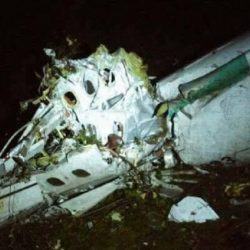 76 muertos y cinco sobrevivientes en la tragedia de Chapecoense