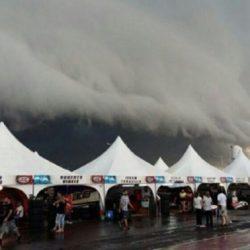 Video: tornado arrasó con el autódromo de Concepción del Uruguay